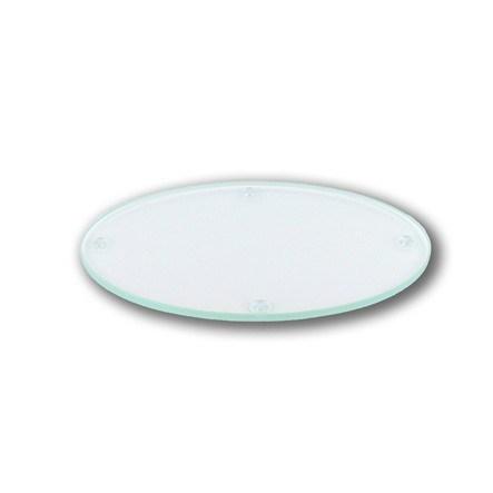 """Glasteller """"mini oval"""" für alle Mini Kerzen"""