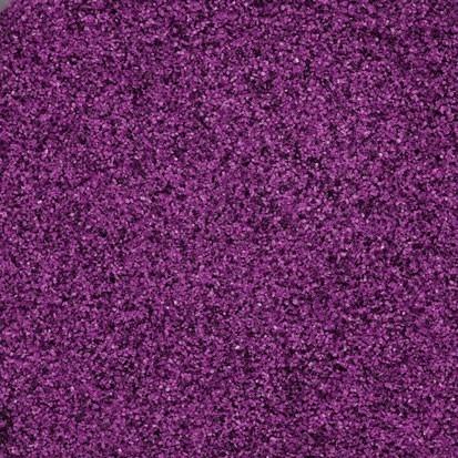 Farbsand - aubergine
