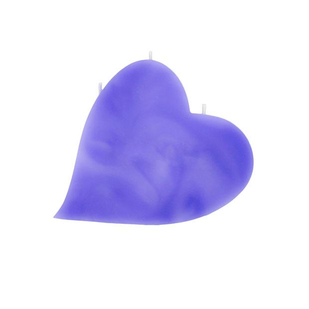 Herze-Kerze-lila