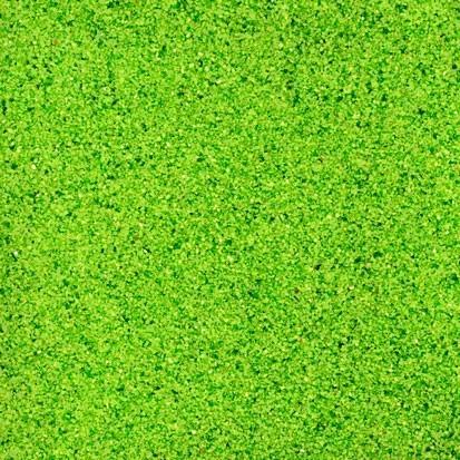 Farbsand - grün