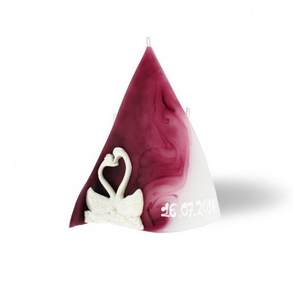 Triangel Kerze 3 Dochte