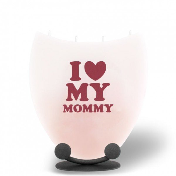 Amphore Kerze - I (LOVE) MY MOMMY