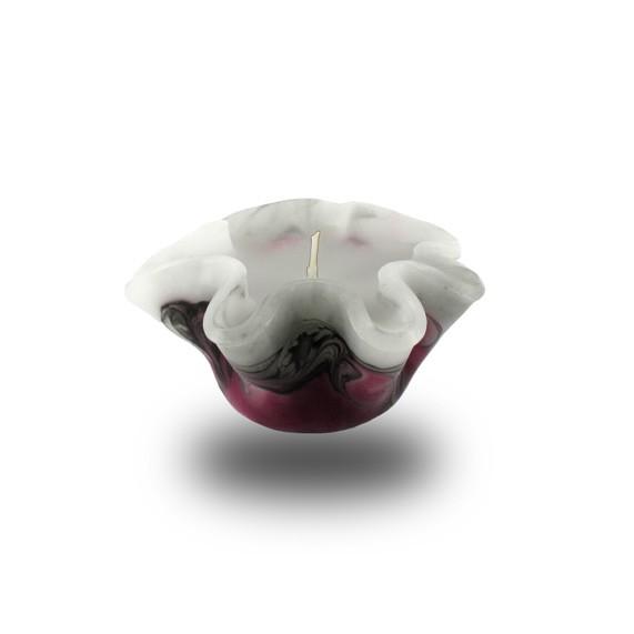 Flower Kerze -S- mit einem Docht