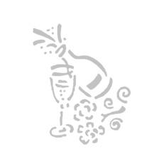 7777116-DEKO_GLAS-SEKT
