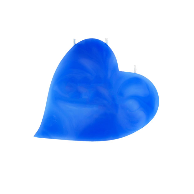 Herze-Kerze-blau