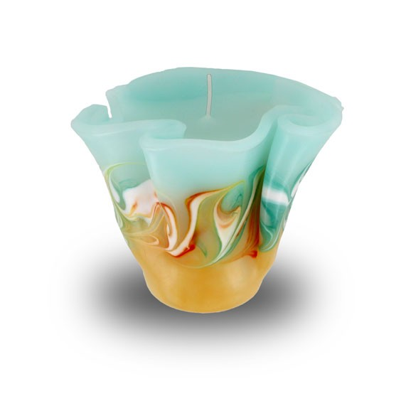 Flower Kerze -M- mit einem Docht
