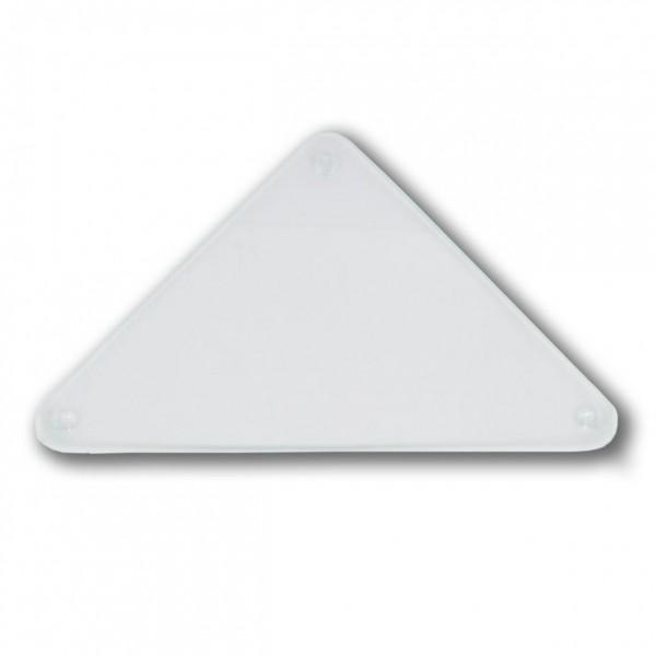 """Glasteller """"dreieck"""" für Wunschkerzen"""