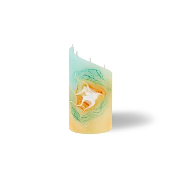 Zylinder Kerze mini 5 Dochte