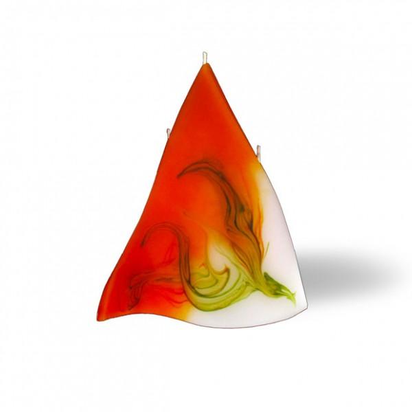 3 Docht Triangel Kerze