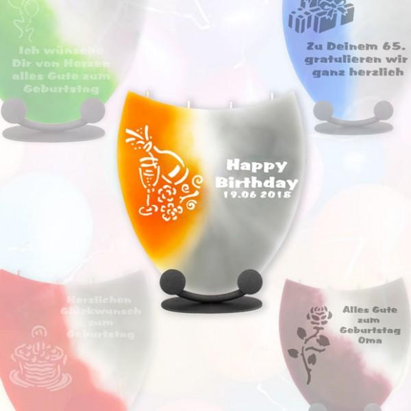 Geburtstagskerzen Amphore