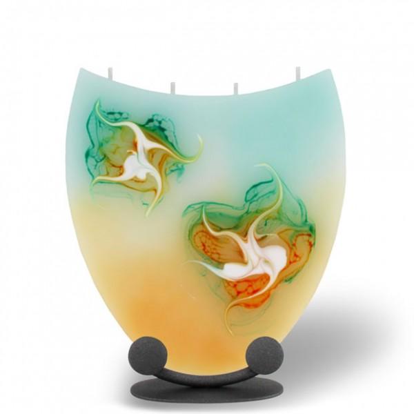 Amphore Kerze mit 4 Dochten