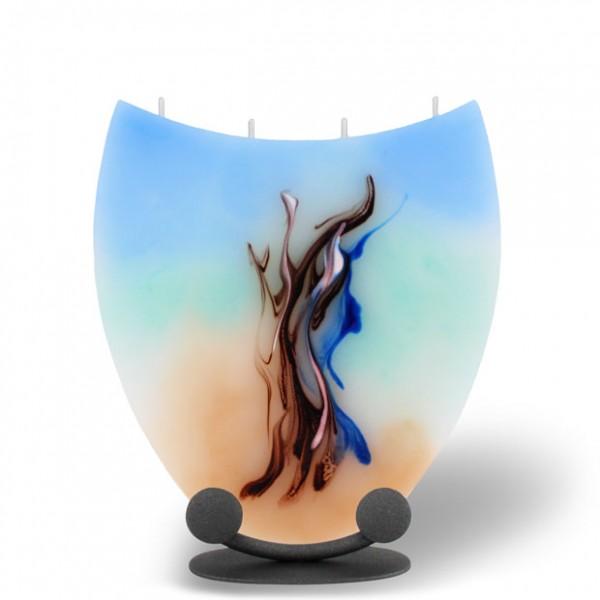 Amphore - blau/türkis/cappuccino